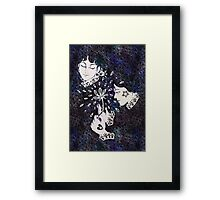 Paper Lace Framed Print