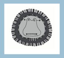 Crazy Hippo  One Piece - Short Sleeve