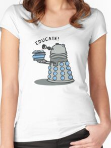 EDUCATE! Women's Fitted Scoop T-Shirt