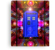 TARDIS IN THE EYE OF ORION 1 Canvas Print