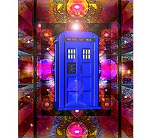 TARDIS IN THE EYE OF ORION 1 Photographic Print
