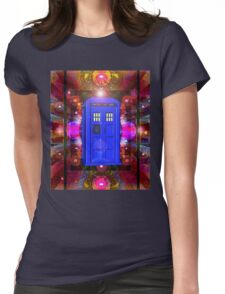 TARDIS IN THE EYE OF ORION 1 Womens Fitted T-Shirt