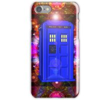 TARDIS IN THE EYE OF ORION 1 iPhone Case/Skin