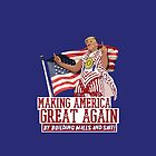 Making America Great Again! Donald Trump (IDIOCRACY) by baridesign