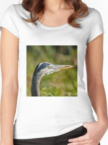 Blue Heron Women's Fitted Scoop T-Shirt