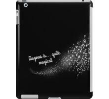 Magnus is Quite Magical iPad Case/Skin