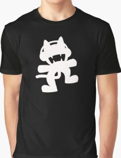 Monstercat   Logo   Black Background   High Quality!  Graphic T-Shirt