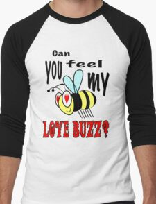 Love Buzz Men's Baseball ¾ T-Shirt