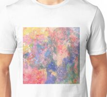 Pale Abstract 75 Unisex T-Shirt