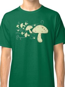 Flying Mushrooms Classic T-Shirt