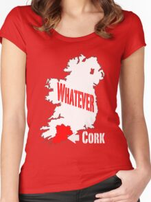 Cork... Whatever... Women's Fitted Scoop T-Shirt