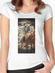 Cattle Drive 20 Women's Fitted Scoop T-Shirt