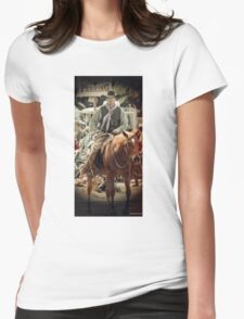 Cattle Drive 20 Womens Fitted T-Shirt
