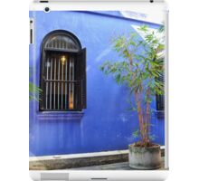 Malaisya ,Penang, Blue Mansion iPad Case/Skin