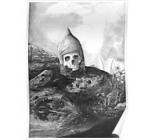 A Knight's Skull Poster