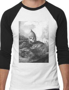 A Knight's Skull Men's Baseball ¾ T-Shirt