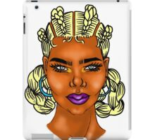 Colored Goddess iPad Case/Skin