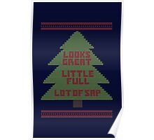 Christmas Vacation Ugly Sweater Poster