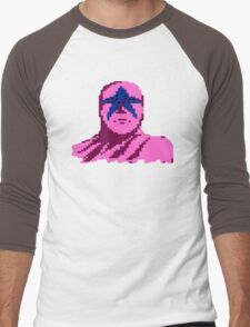 Star Man Men's Baseball ¾ T-Shirt