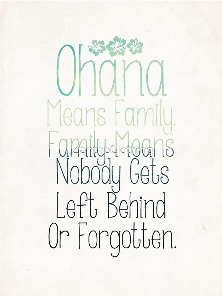 Ohana by Crystal Potter