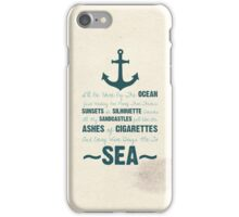 You Be The Anchor... iPhone Case/Skin