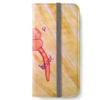 Be A Cartoon Heart iPhone Wallet/Case/Skin
