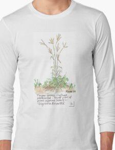 Finger grass - Botanical Long Sleeve T-Shirt