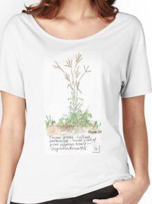 Finger grass - Botanical Women's Relaxed Fit T-Shirt