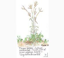 Finger grass - Botanical Womens Fitted T-Shirt