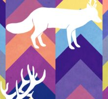 Antlers & Chevrons - Cool Sticker