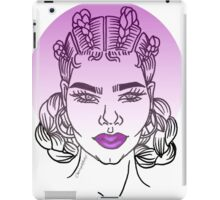 Goddess (Purple) iPad Case/Skin