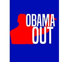 Obama Out Photographic Print