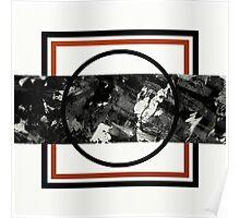 Textured Slice Poster