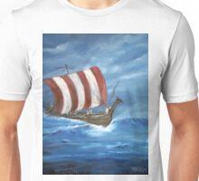 A  Viking Long Boat Unisex T-Shirt