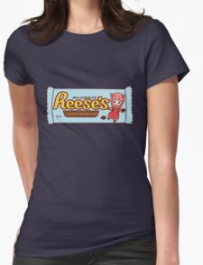 ACNL Reese's Peanut Butter Cups  Womens Fitted T-Shirt