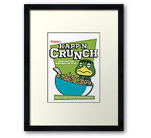 Kapp'n Crunch! Framed Print