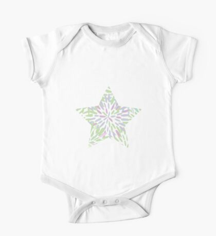 Blooming Star One Piece - Short Sleeve