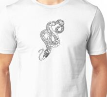 American Traditional Snake Rose Tattoo Unisex T-Shirt