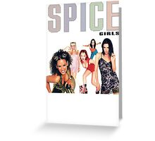 Spice Girls Greeting Card