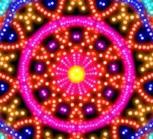 Mystical Mandala 17 Sticker