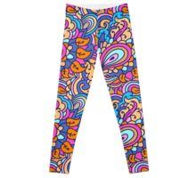 Abstract pattern 3 Leggings