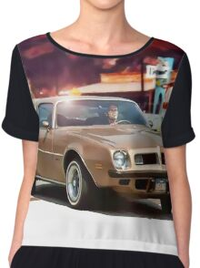 The Rockford Files Chiffon Top