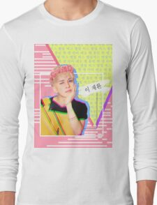 VIXX Ken Cute Blonde Main Vocal Long Sleeve T-Shirt