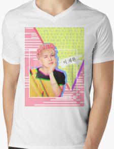 VIXX Ken Cute Blonde Main Vocal Mens V-Neck T-Shirt