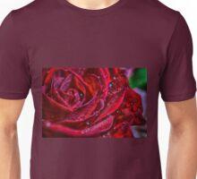 Red velvet Rose Unisex T-Shirt