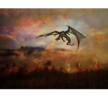 Dracarys - Game of Throne prediction Photographic Print