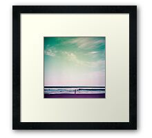 Coolum Beach Framed Print