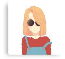 Cool Girl? Canvas Print