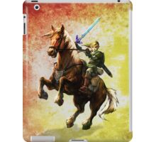 Legend Of Zelda Advanture Link iPad Case/Skin