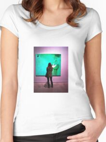 Art Appreciation Women's Fitted Scoop T-Shirt